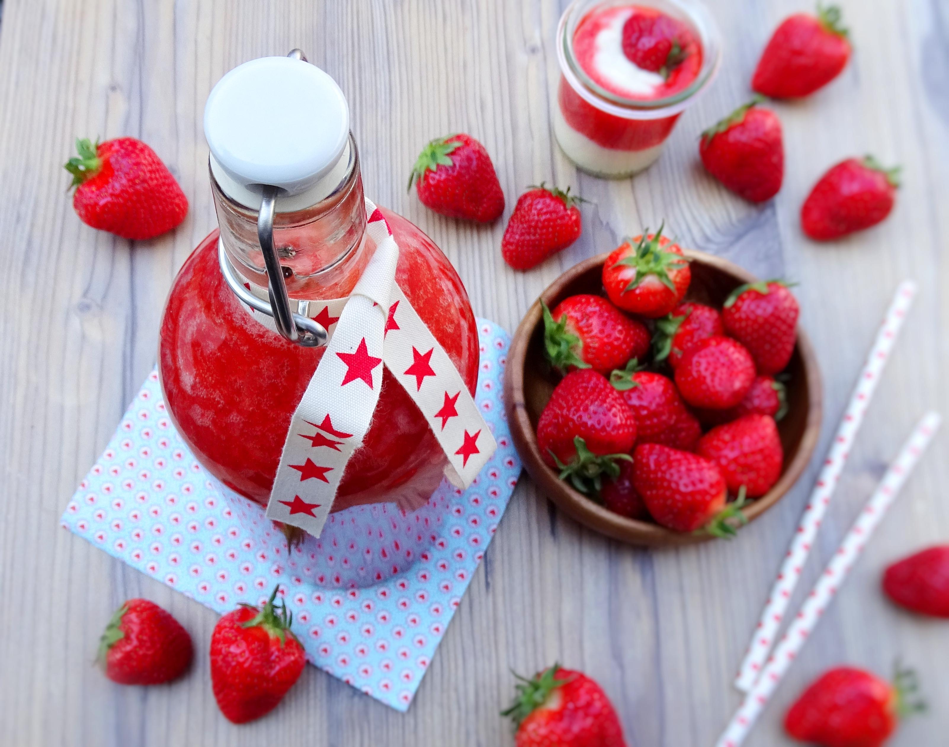 Erdbeerlimes oder wie schmeckt der Frühling?