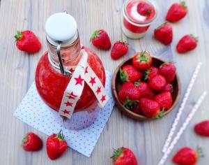 Erdbeerlimes / Xuxu