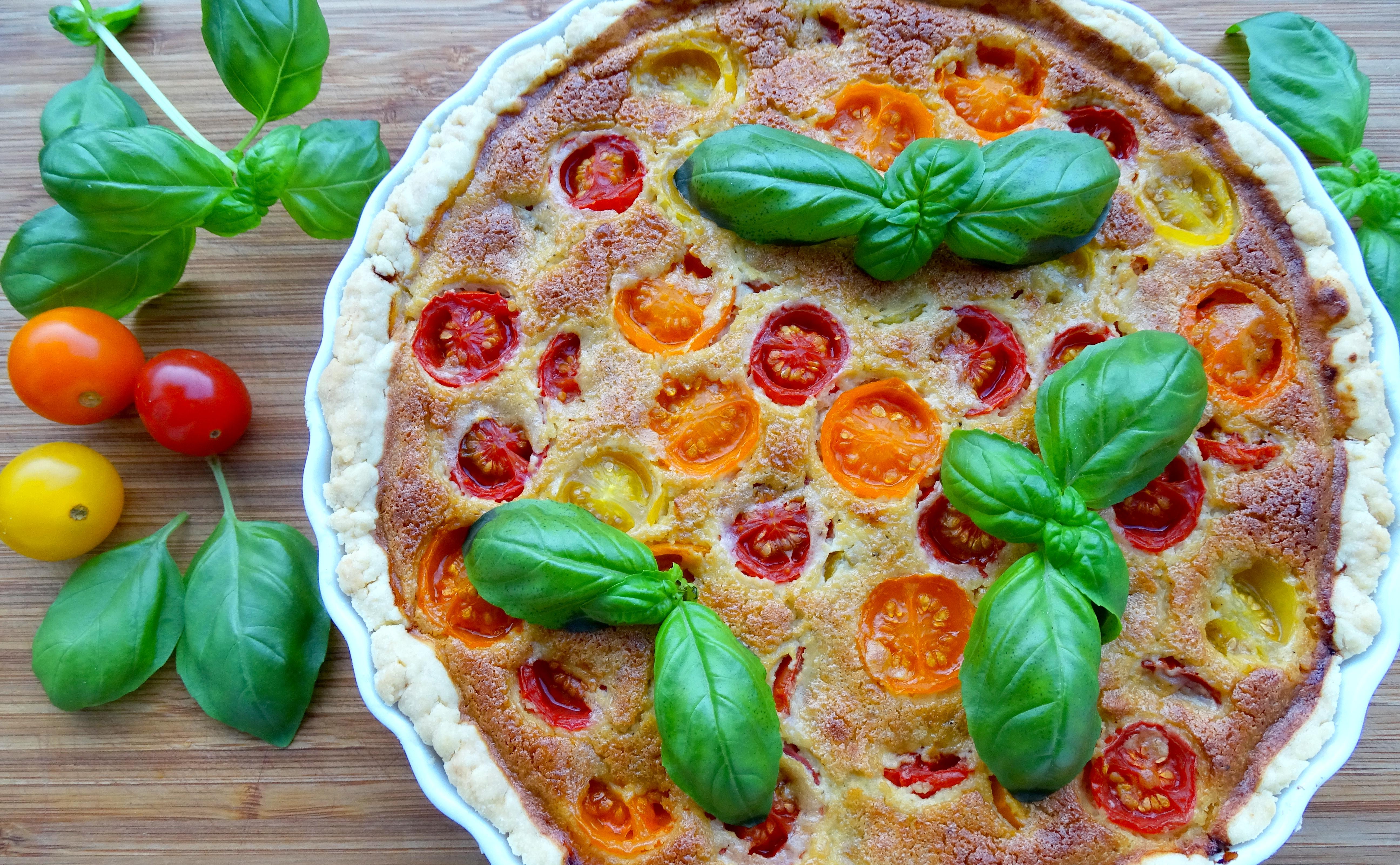Tomaten Tarte – Fruchtig und frisch