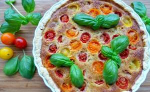 Tomaten Tarte vegan